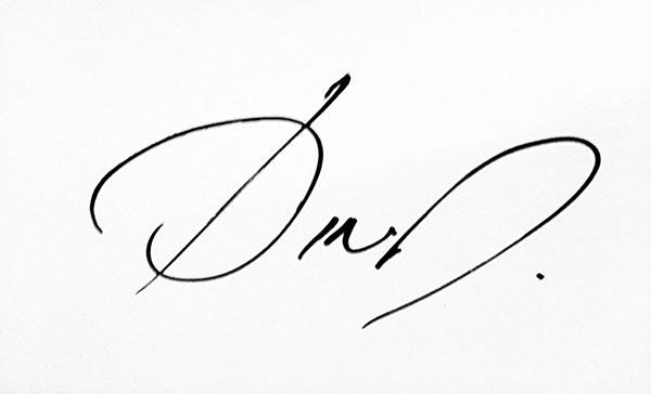 dorotea dimitrijevic's Signature