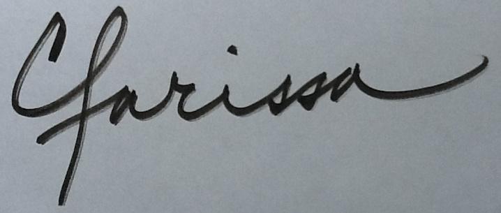 Clarissa burton's Signature