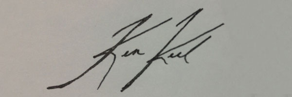 Kenneth Keel's Signature