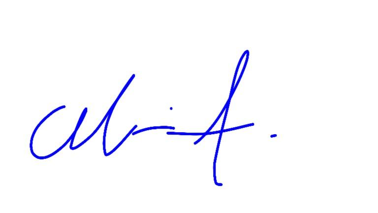 Maria arroliga's Signature