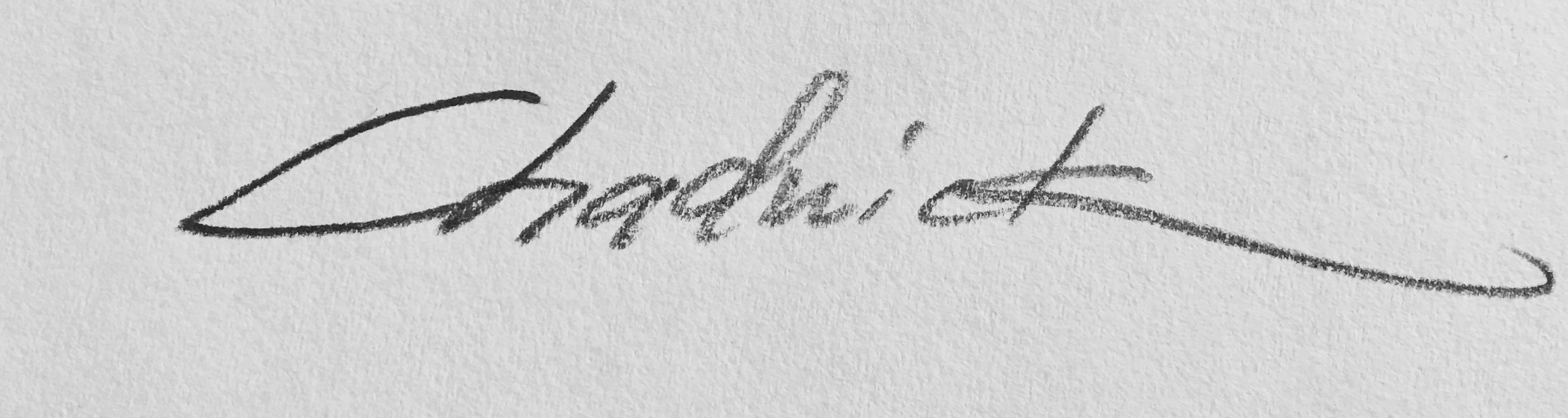gregg chadwick's Signature