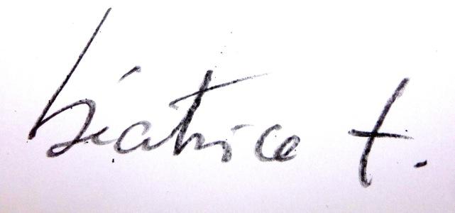 beatrice testet's Signature