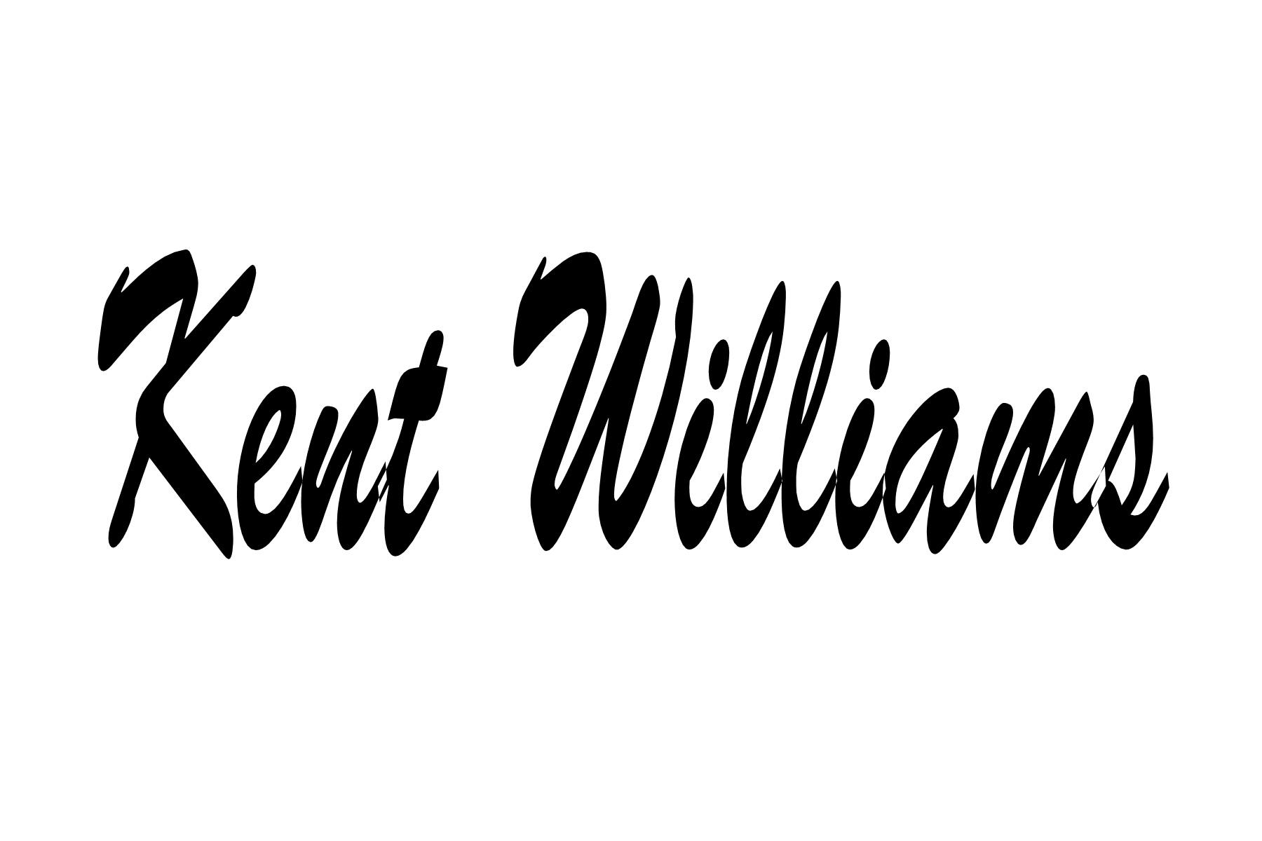 Kent Williams's Signature