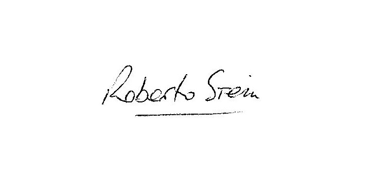 Roberto Stein's Signature