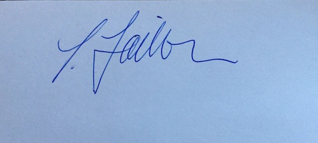 linda taillon's Signature