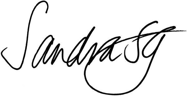 sandra's Signature