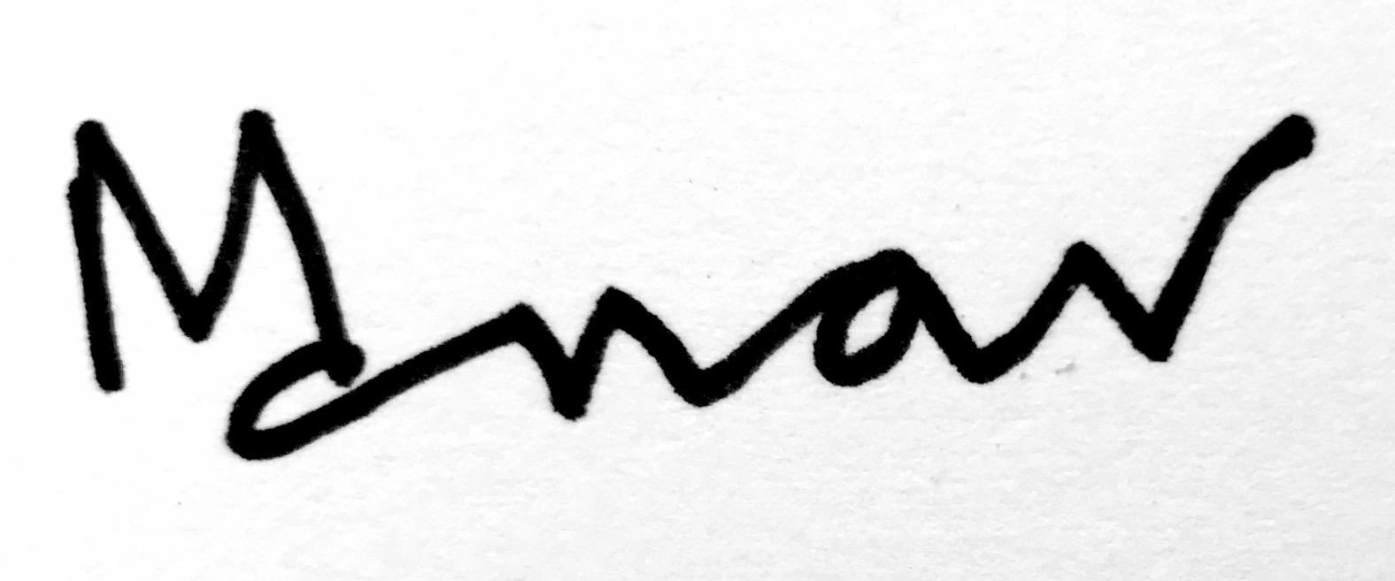 manav verma's Signature
