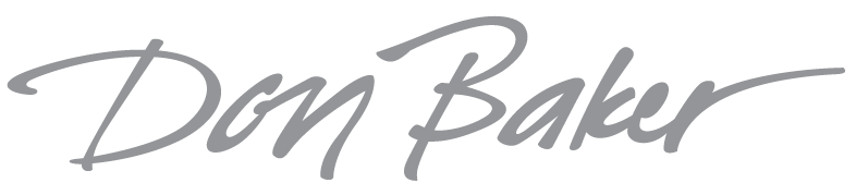 don baker's Signature