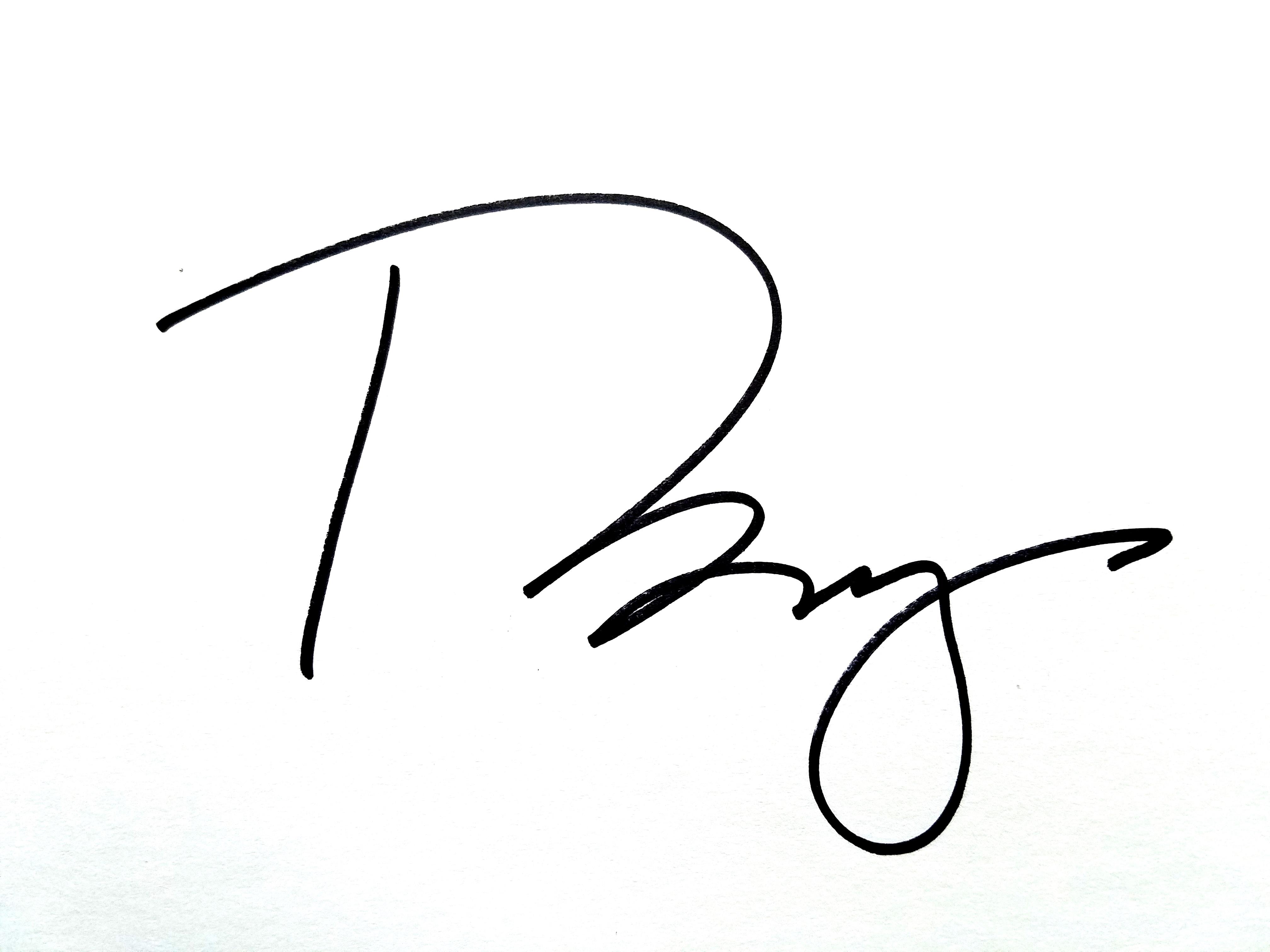 Tish Brey's Signature