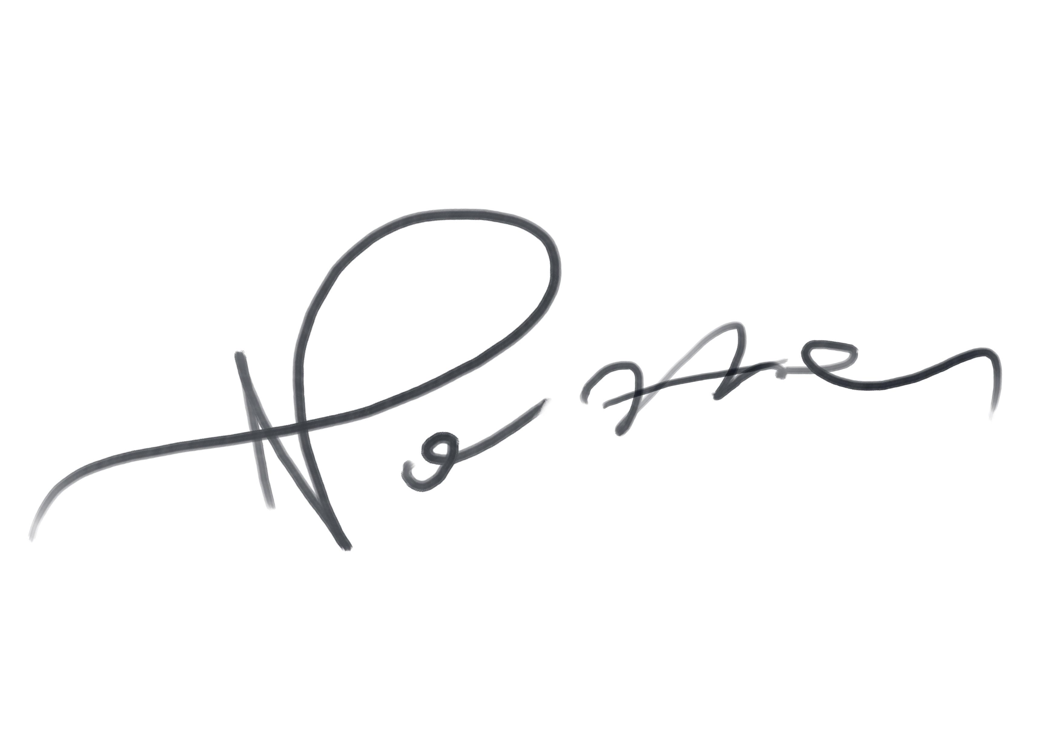 claudio nozza's Signature