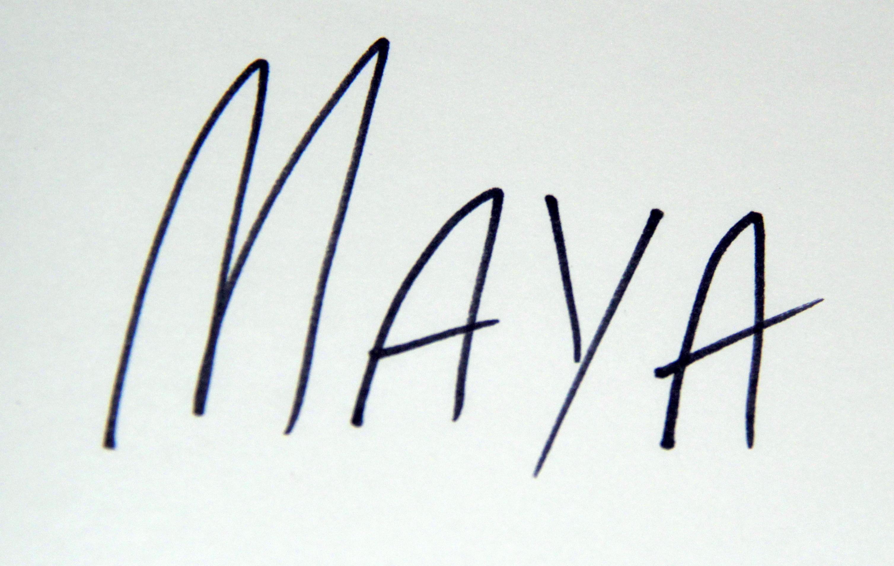maya  mincheva's Signature