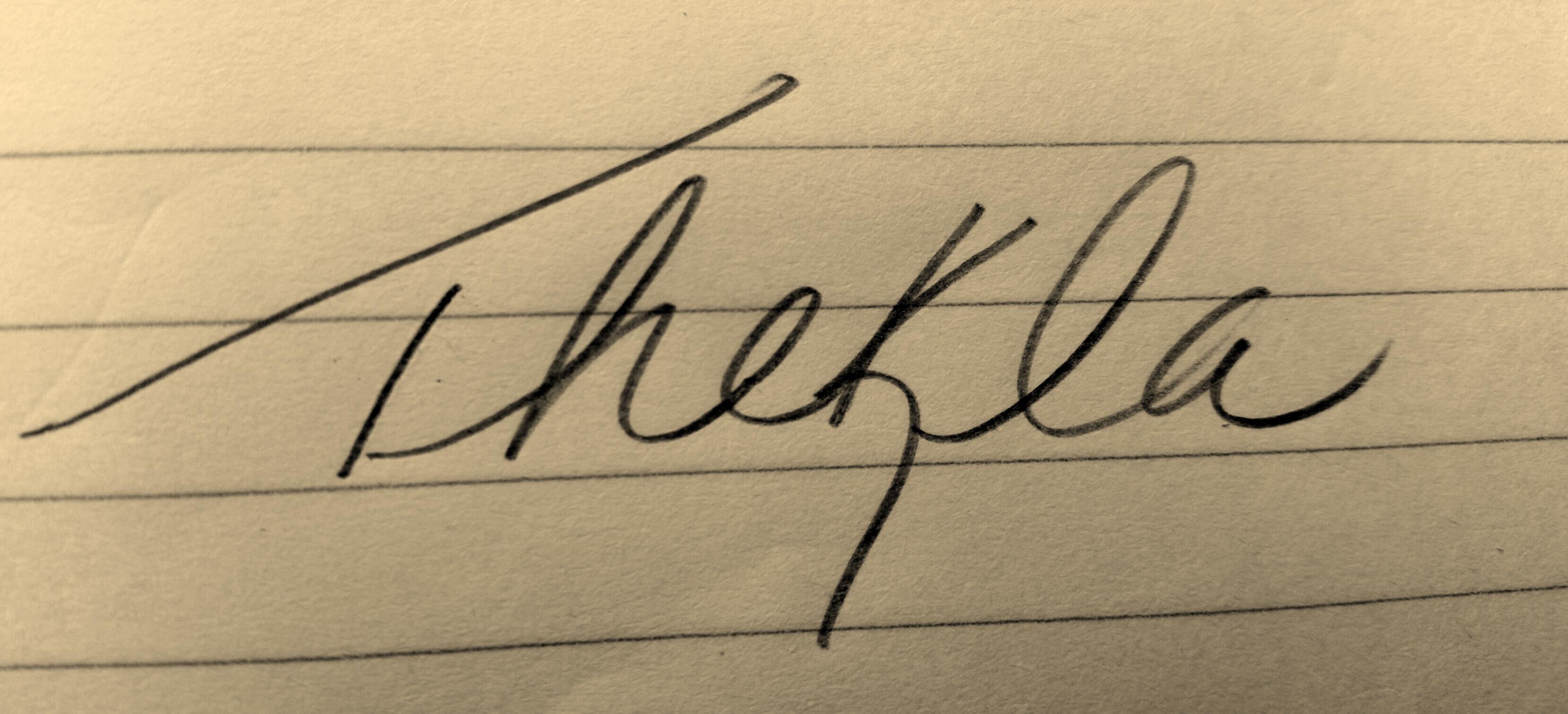 Beatrice Cox's Signature