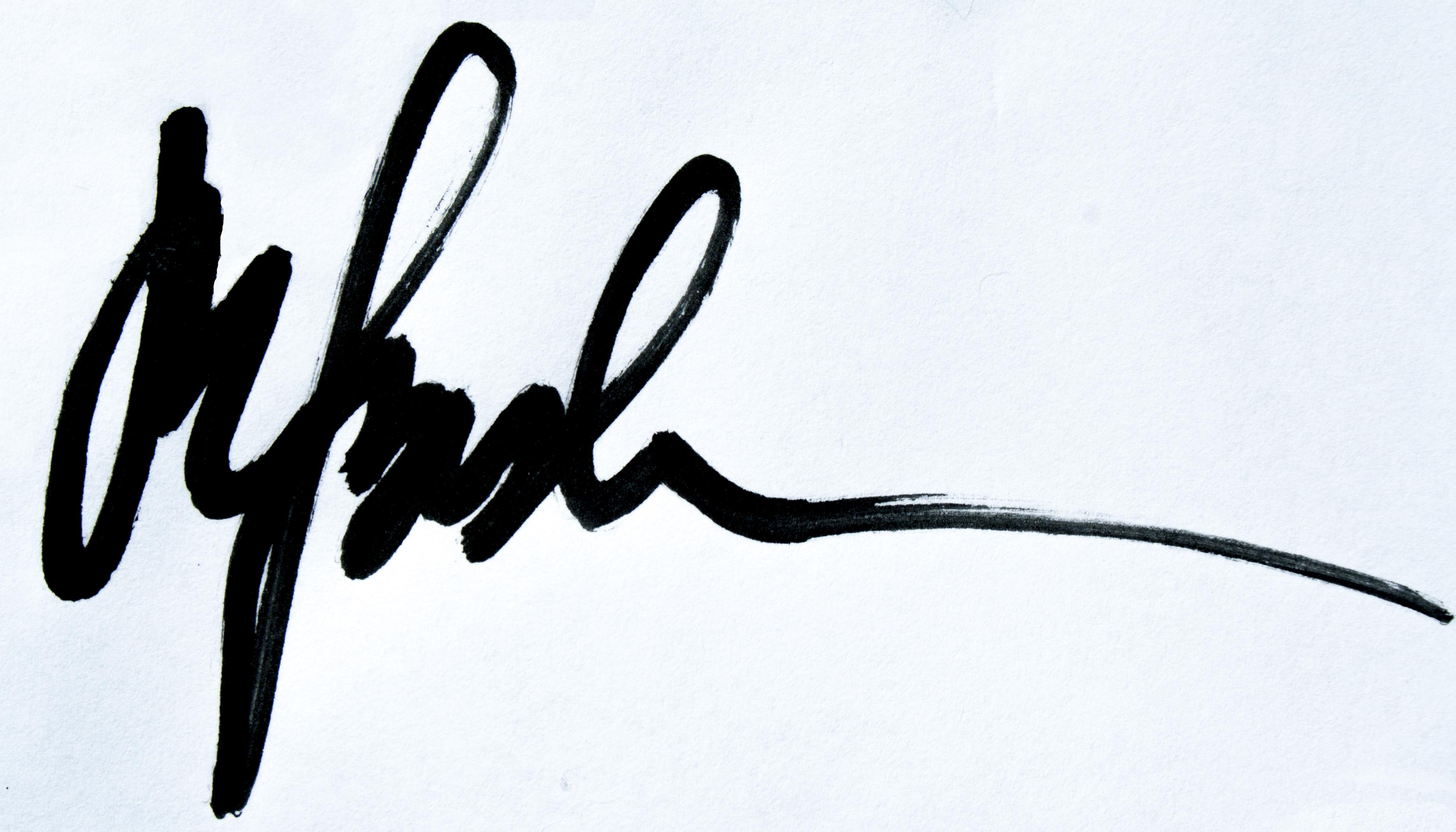 magdalena borkowska's Signature