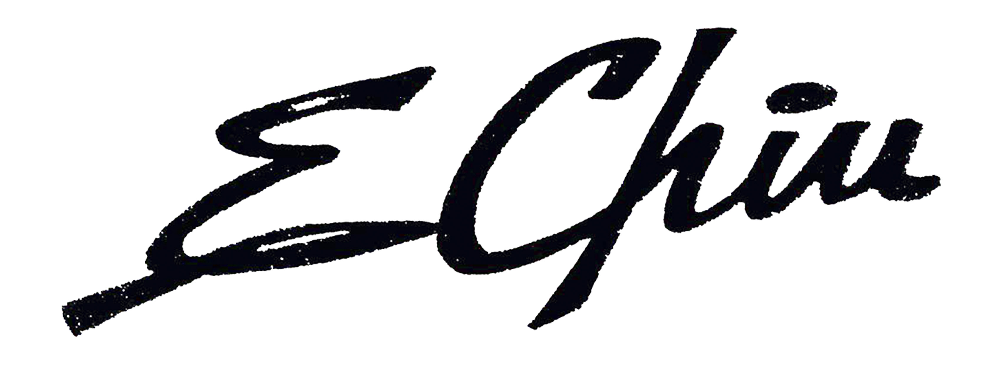 ENRIQUE CHIU's Signature