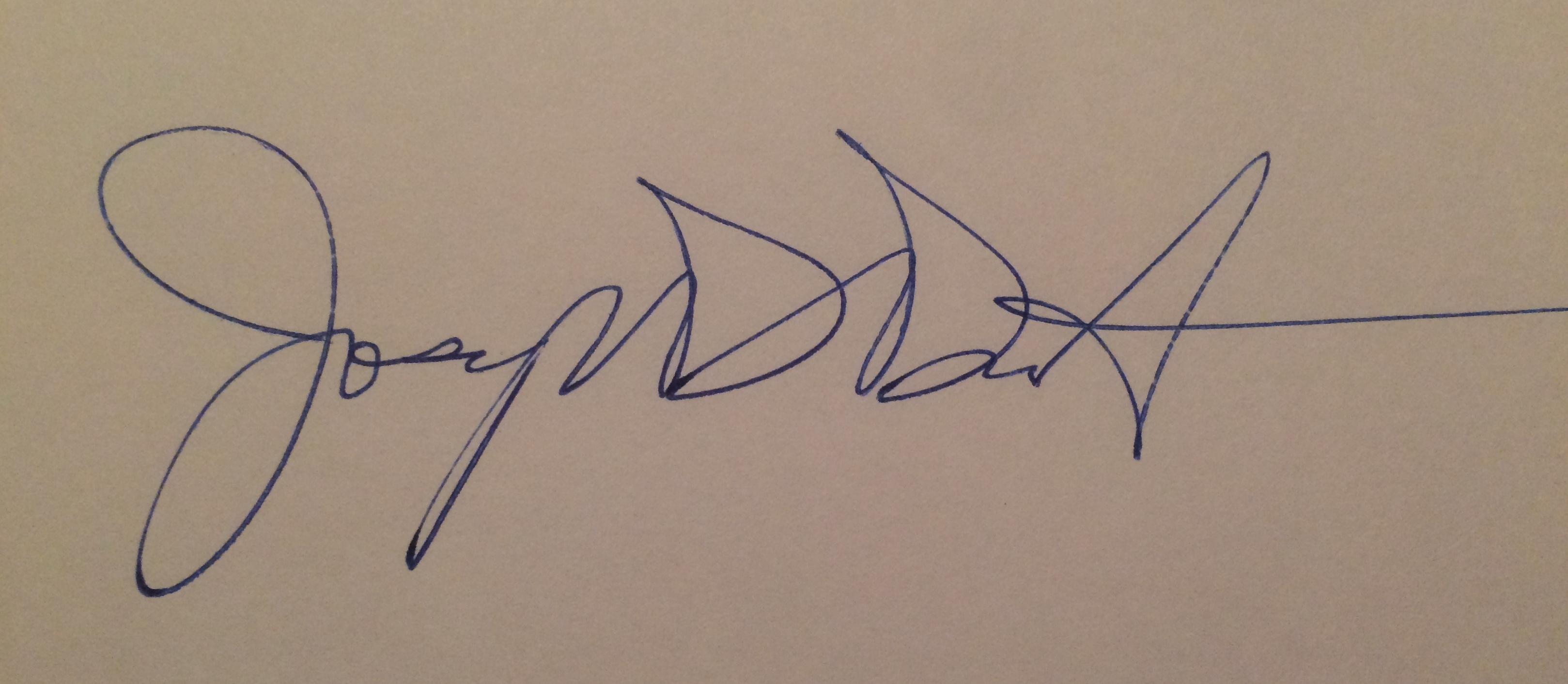 j.E. didonato's Signature