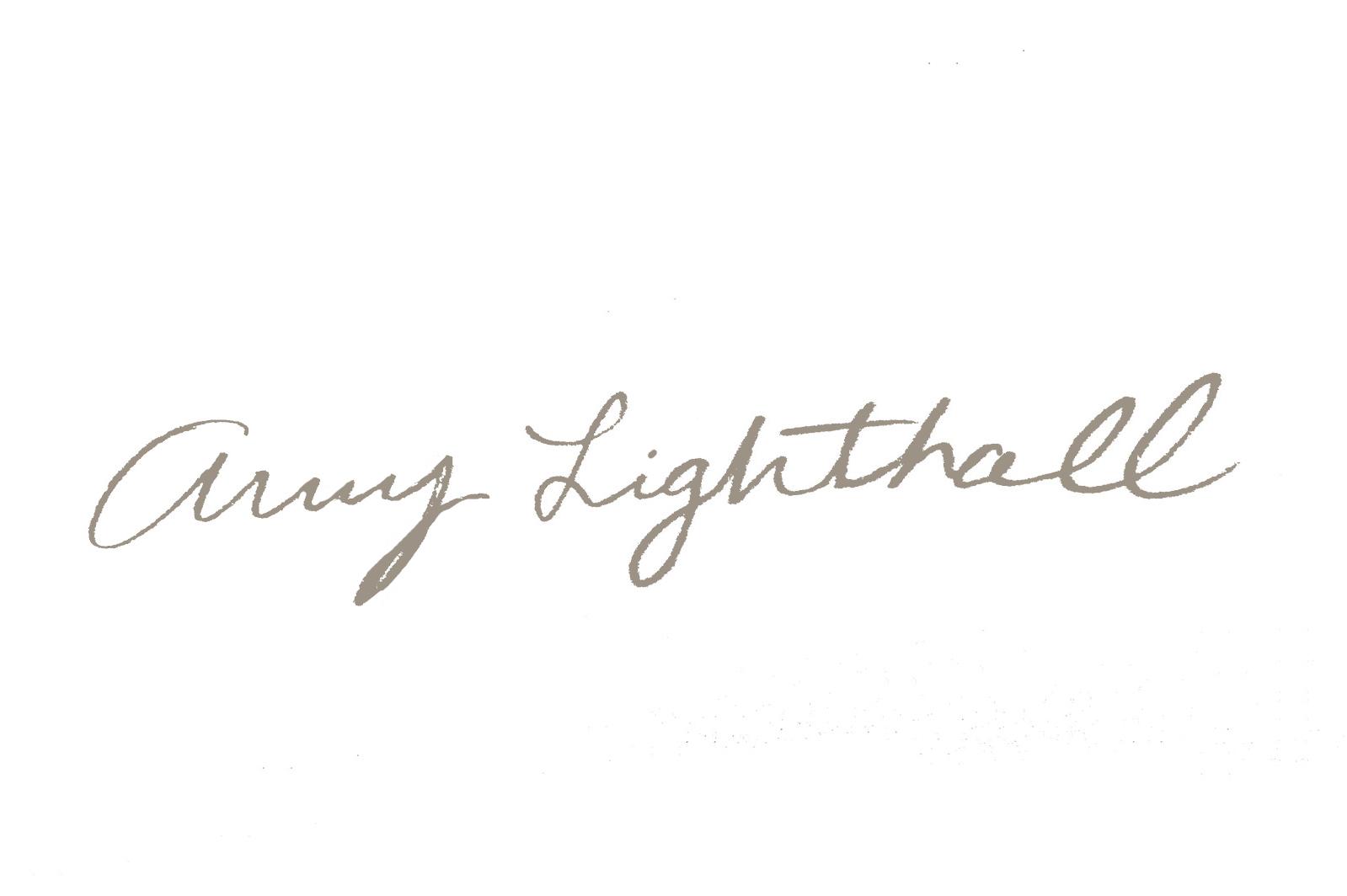 amy lighthall's Signature