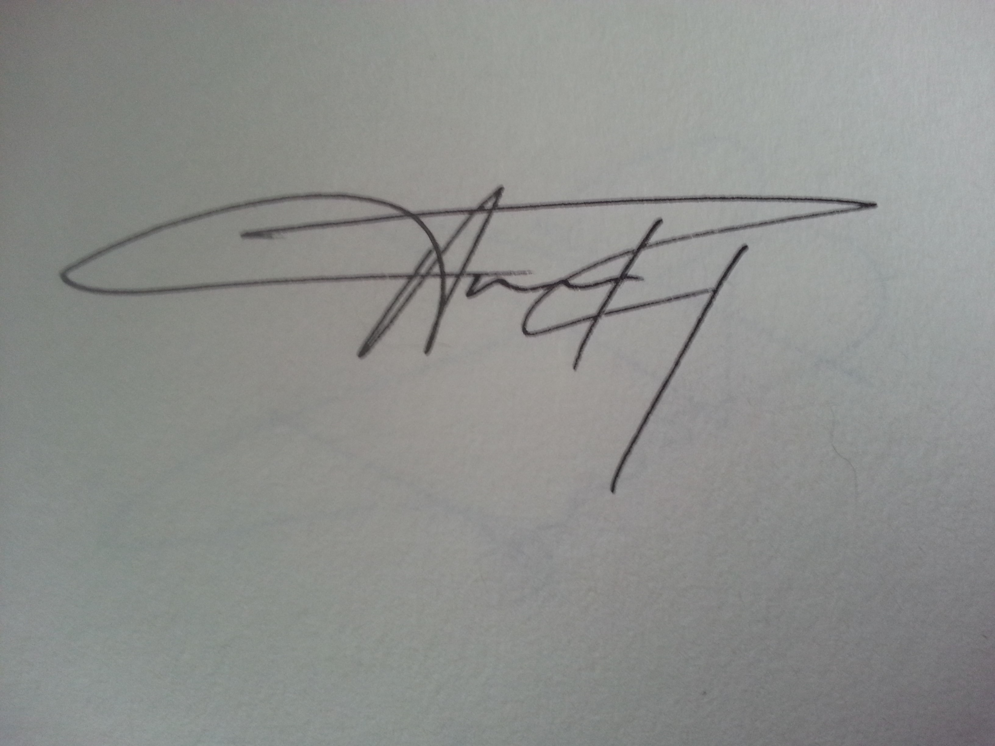 Angela's Artistic Collcetion's Signature