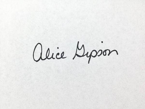 alice.gipson's Signature