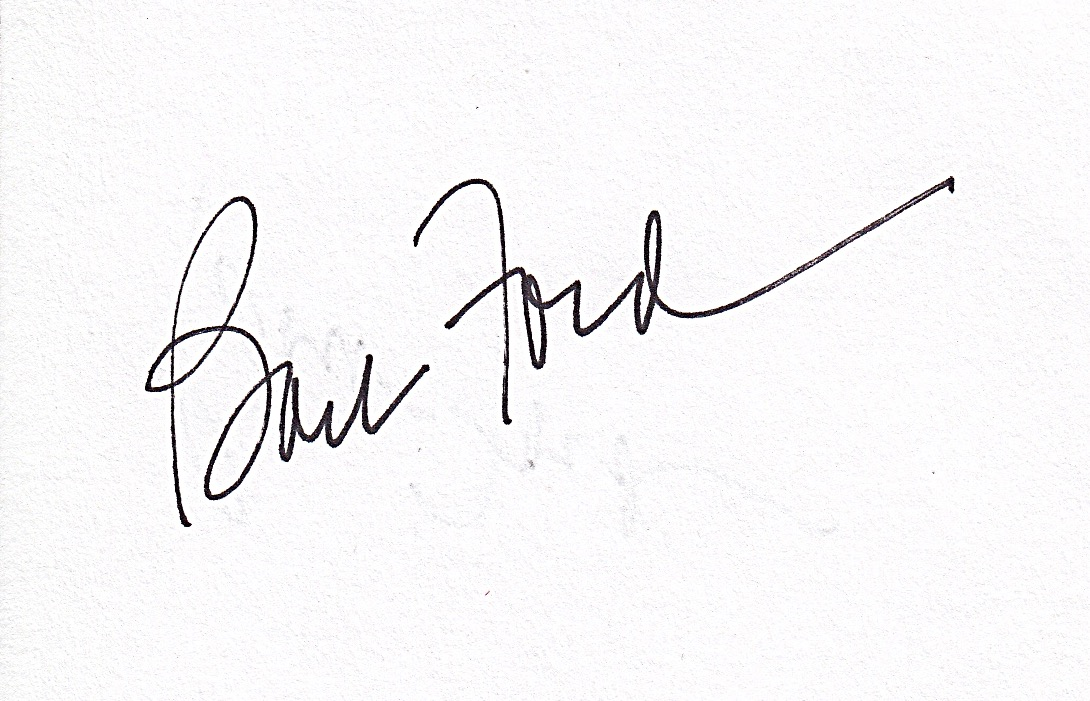 Barb Ford's Signature