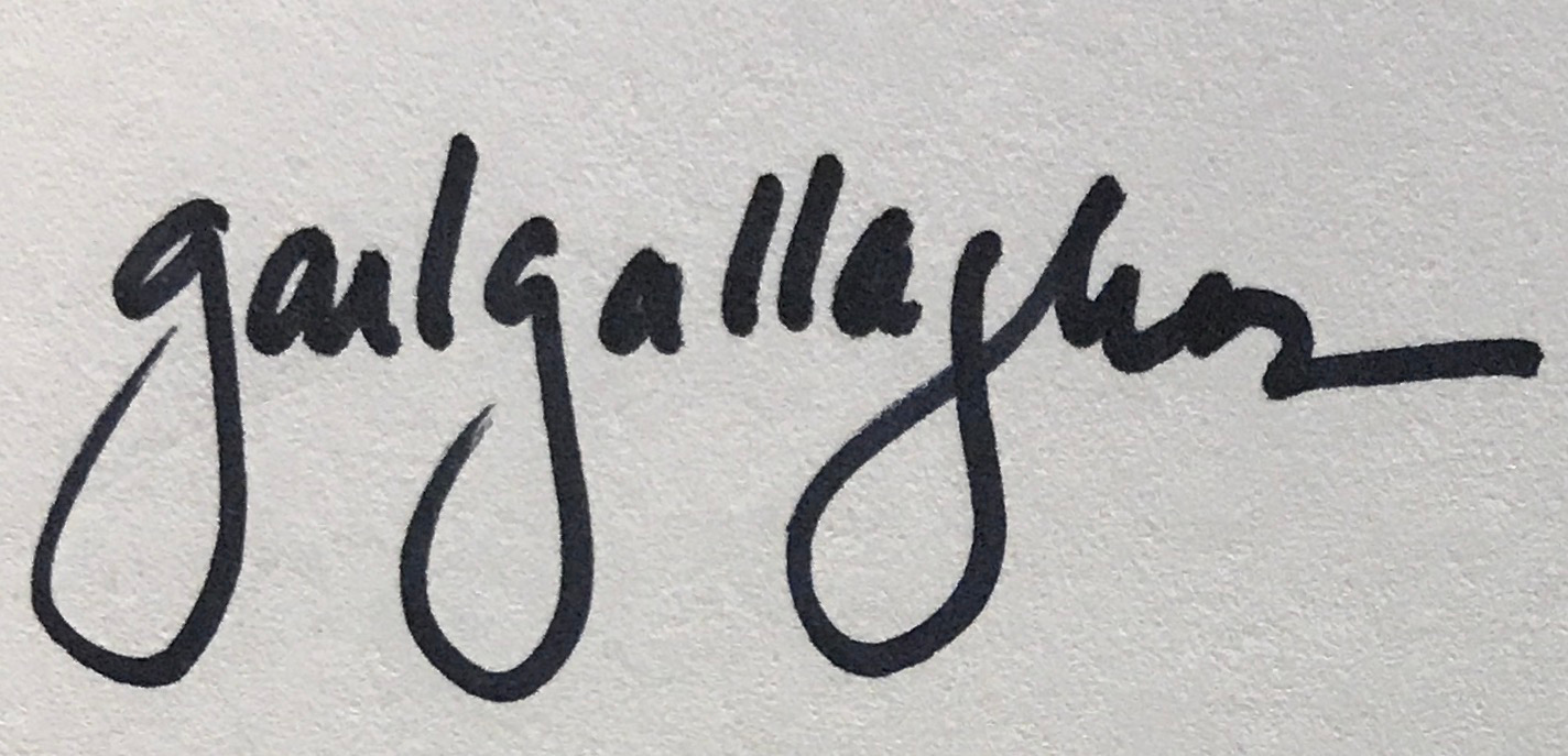 Gail Gallagher's Signature