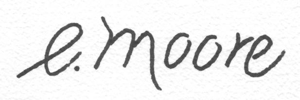 Elizabeth moore's Signature