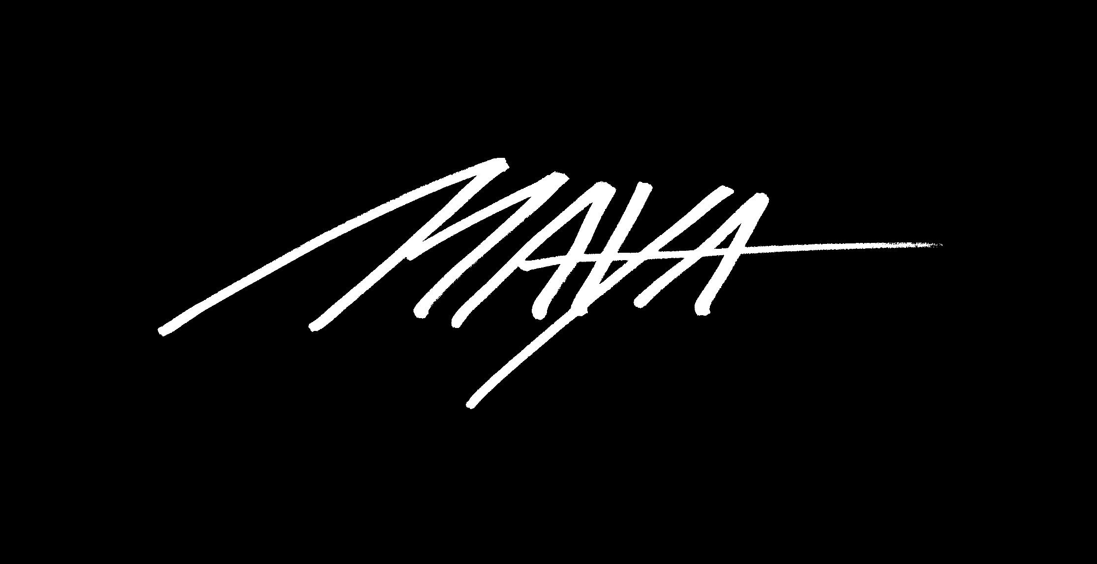 maya henaff's Signature