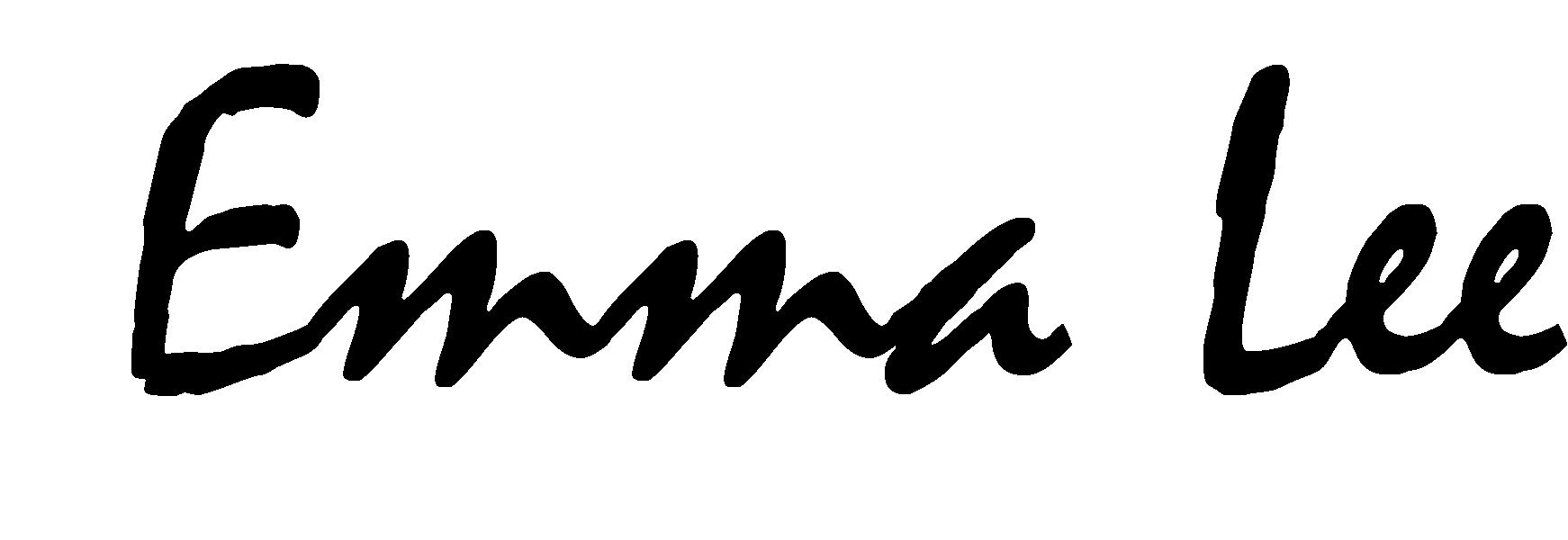 EMMA LEE's Signature