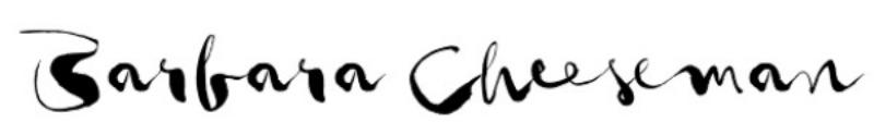 BARBARA CHEESEMAN's Signature