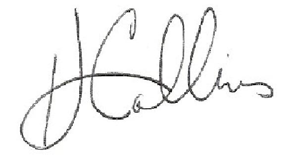 H Collins's Signature