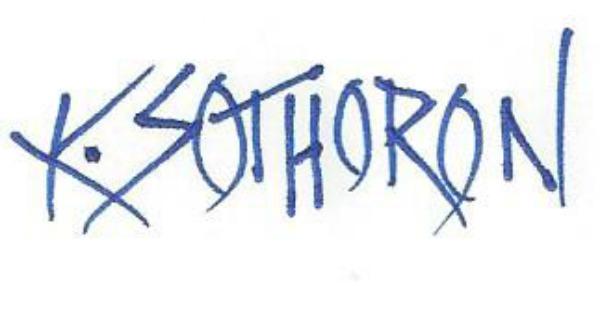 KAREN SOTHORON's Signature