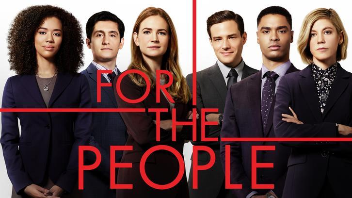 For The People - Advance Preview - My Favorite New Show