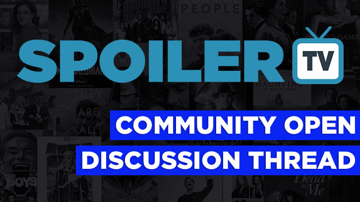 The Daily SpoilerTV Community Open Discussion Thread - 19th November 2017