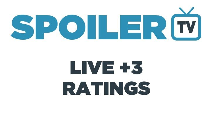 Live+3 DVR Ratings - 2017/18 Season *Updated 9th April 2018*