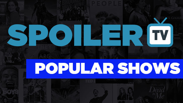 Most Popular Shows on SpoilerTV - w/e 16th March 2018