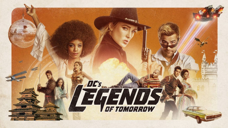 Legends of Tomorrow - Episode 5.14 - Swan Thong (Season Finale) - Promo + Press Release