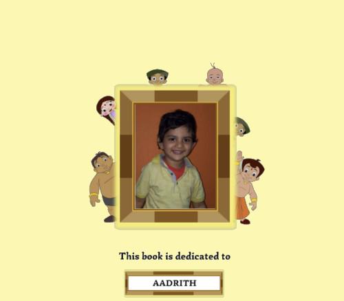 Personalised Books with Chhota Bheem