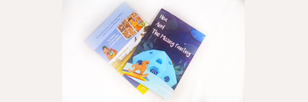 Child reading StarandRead Personalised Books