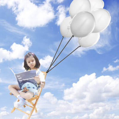 On Cloud 9 while reading personalised StarandRead book