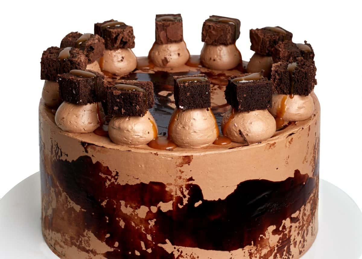 Cutter & Squidge chocolate cake