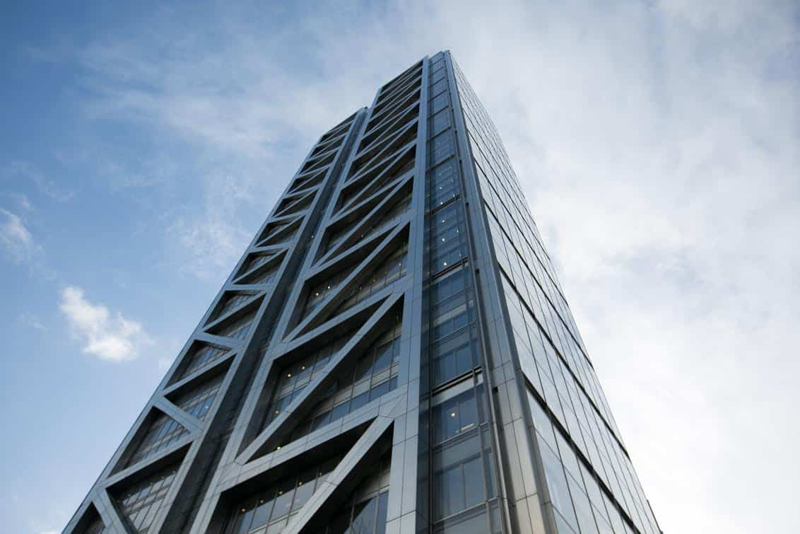 Heron Tower, Central London, was the location of Financier Anthony Constantinou's office. Anthony was recently charge with with groping three women at his company's office.   See NATIONAL story NNCITY.