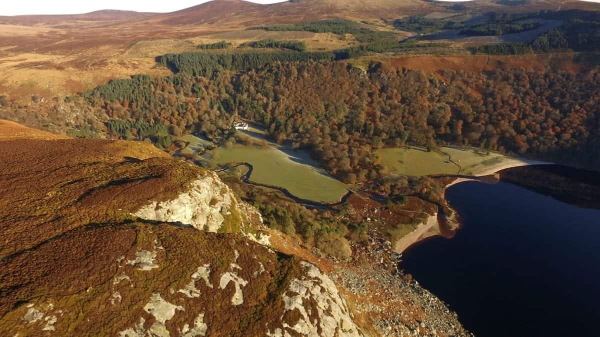 An incredible country estate with a large lake and 5,000 acres is being sold for £24 MILLION by a descendent of the Guinness brewing family. Luggala is one of Ireland's best-known homes having been used in film and TV and hosted the likes of Michael Jackson. It was built in the 18th century and, in the 1930s, was bought by Ernest Guinness who gave the property to his daughter Oonagh as a wedding present. See Centre Press story CPGUINNESS. The main home on the 5,000 acre estate is a five-bedroom gothic property has seven bedrooms and three reception rooms. There are four further bedrooms within the guest lodge and 16 in the seven estate lodges and cottages dotted around the estate.  It is a home which has attracted celebrities for decades. Michael Jackson secretly rented it for three months in 2006 while Gerard Depardieu was on his way to Luggala when he was kicked off a Paris-to-Dublin flight for urinating in the aisle. The Rolling Stones have also stayed there.  The estate, which is just 25 miles from Dublin, was used to film scenes in Braveheart and Excalibur and Bono once called Luggala his inspiration. For the past 47 years it has been the home of Gareche Browne, the great, great, greatson of Arthur Guinness, who founded the legendary drink. Gareche Browne, who is the founder of Claddagh Records, is now selling Luggala for £24 million. The decision to sell Luggala is expected to generate international interest, but it has also prompted debate in Ireland. There have been calls for the Irish government to buy Luggala, but officials have said they couldn't afford the 28 million euro (£24m) asking price. *** Local Caption *** Please byline - Sotheby's Realty/SWNS.COM An incredible country estate with a large lake and 5,000 acres is being sold for £24 MILLION by a descendent of the Guinness brewing family. Luggala is one of Ireland's best-known homes having been used in film and TV and hosted the likes of Michael Jackson. It was built in the 18th century and, in the 