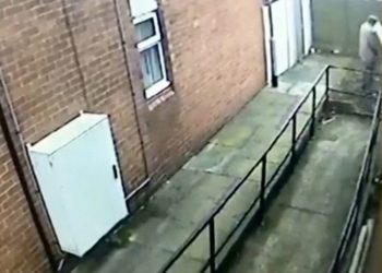 CCTV catches a UKIP canvasser having a wee at the home of Marjorie Pinches.  A Ukip campaigner who urinated on an OAP's fence and then tried to push his way into her home will not face court action - after sending her a letter of apology.  See NTI story NTIWEE.  The leafletter sparked outrage during the Stoke-on-Trent Central by-election campaign when he was captured on CCTV urinating up Marjorie Pinches's Northwood fence.  He had been caught short and then added insult to injury by trying to get inside the 73-year-old's home to use her toilet.  Staffordshire Police pledged to investigate the February 18 incident after the cops were called in.  Now it has emerged the Ukip supporter - known only as John - has avoided the threat of prosecution by writing the apology.