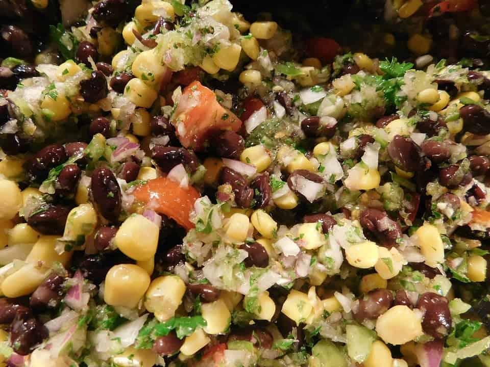 Plant-based Vegan Salad Whole Meal Real Food