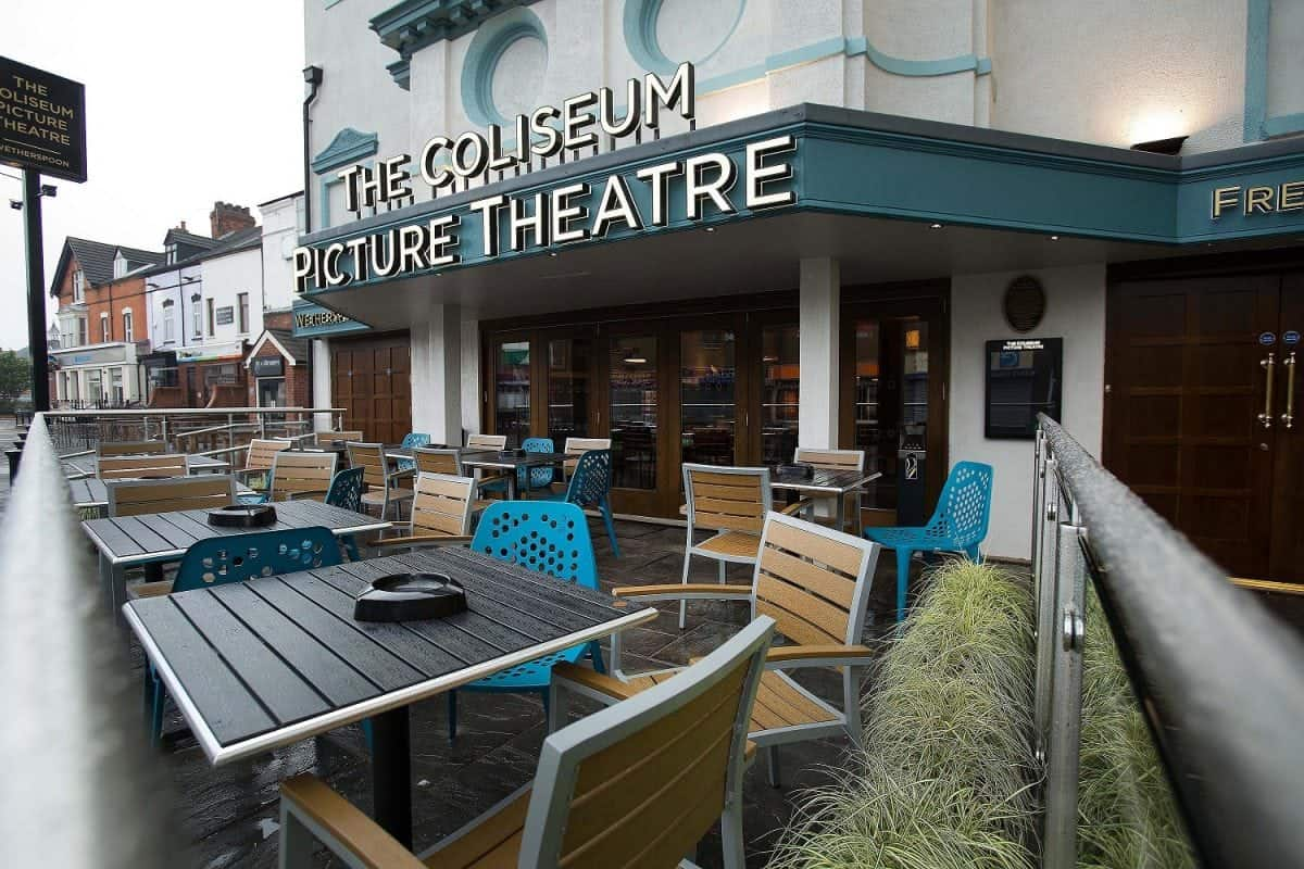The Coliseum Picture Theatre has been a local landmark since 1920.