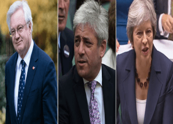 David Davis John Bercow Theresa May
