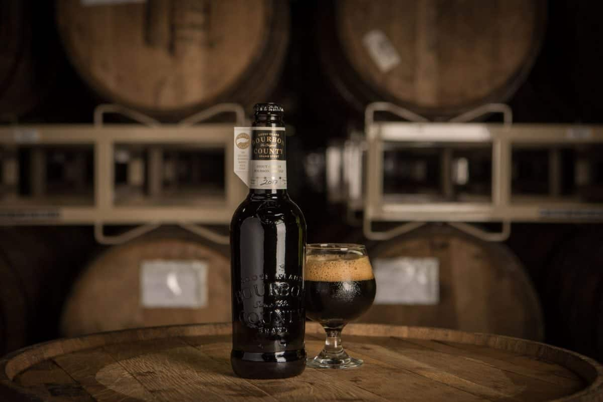 Goose Island Beer Company 2017 Bourbon County Brand Stout