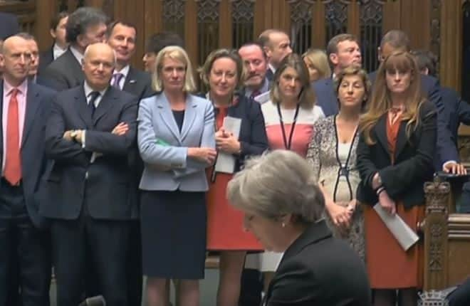 Iain Duncan Smith and others stand to support PM