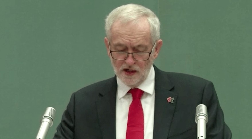 Jeremy Corbyn address UN