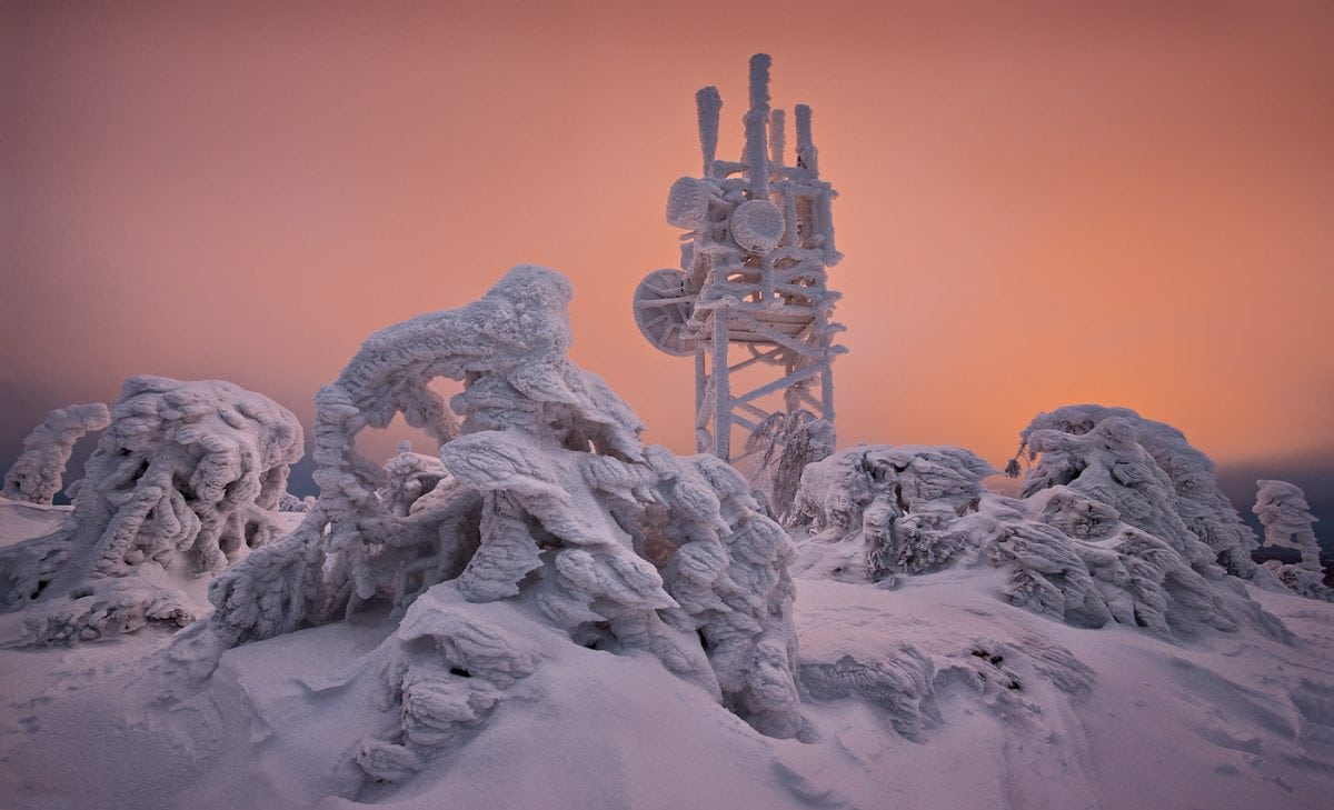 Jon Martin: This Frozen Planet, Finland