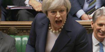 PMQs Theresa May